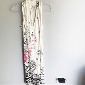 Akris Punto Floral Sleeveless Dress